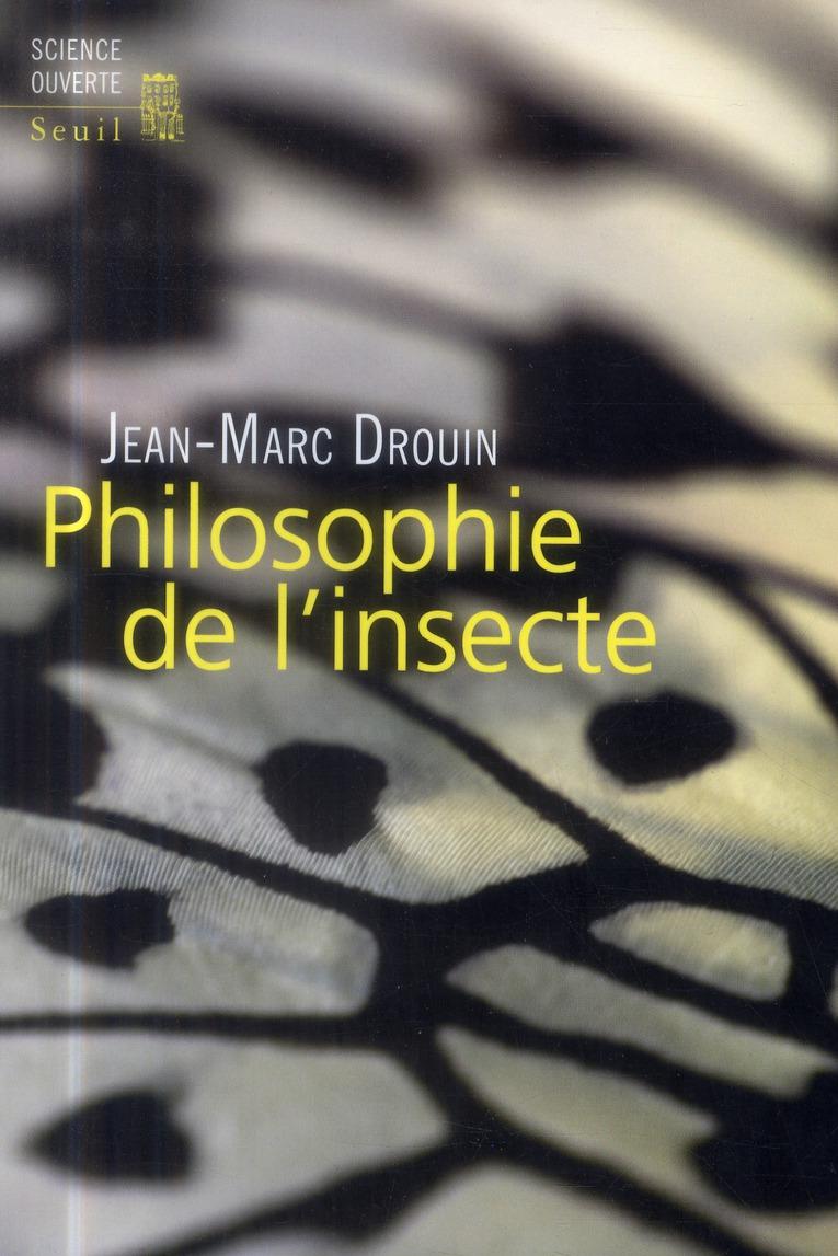 Philosophie de l'insecte