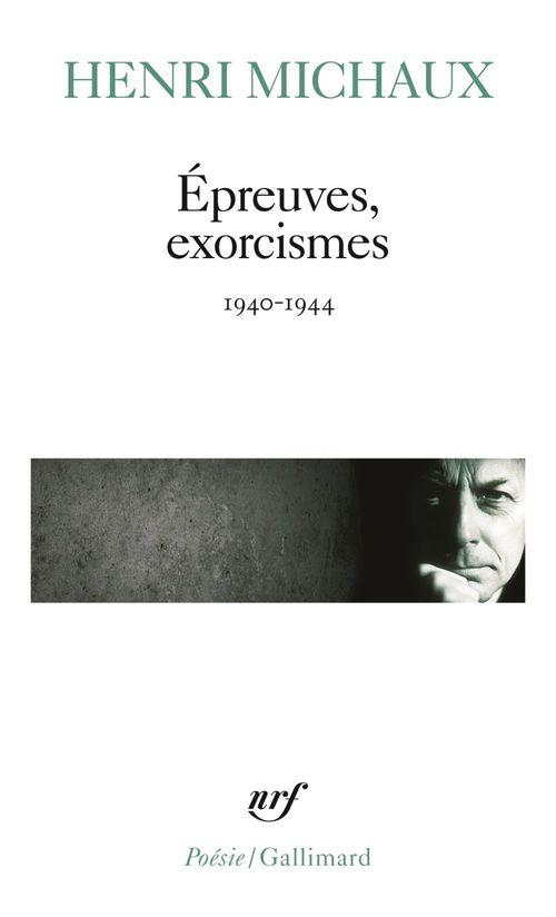 épreuves, exorcismes ; 1940-1944