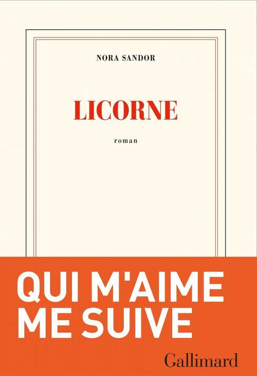 Licorne  - Nora Sandor