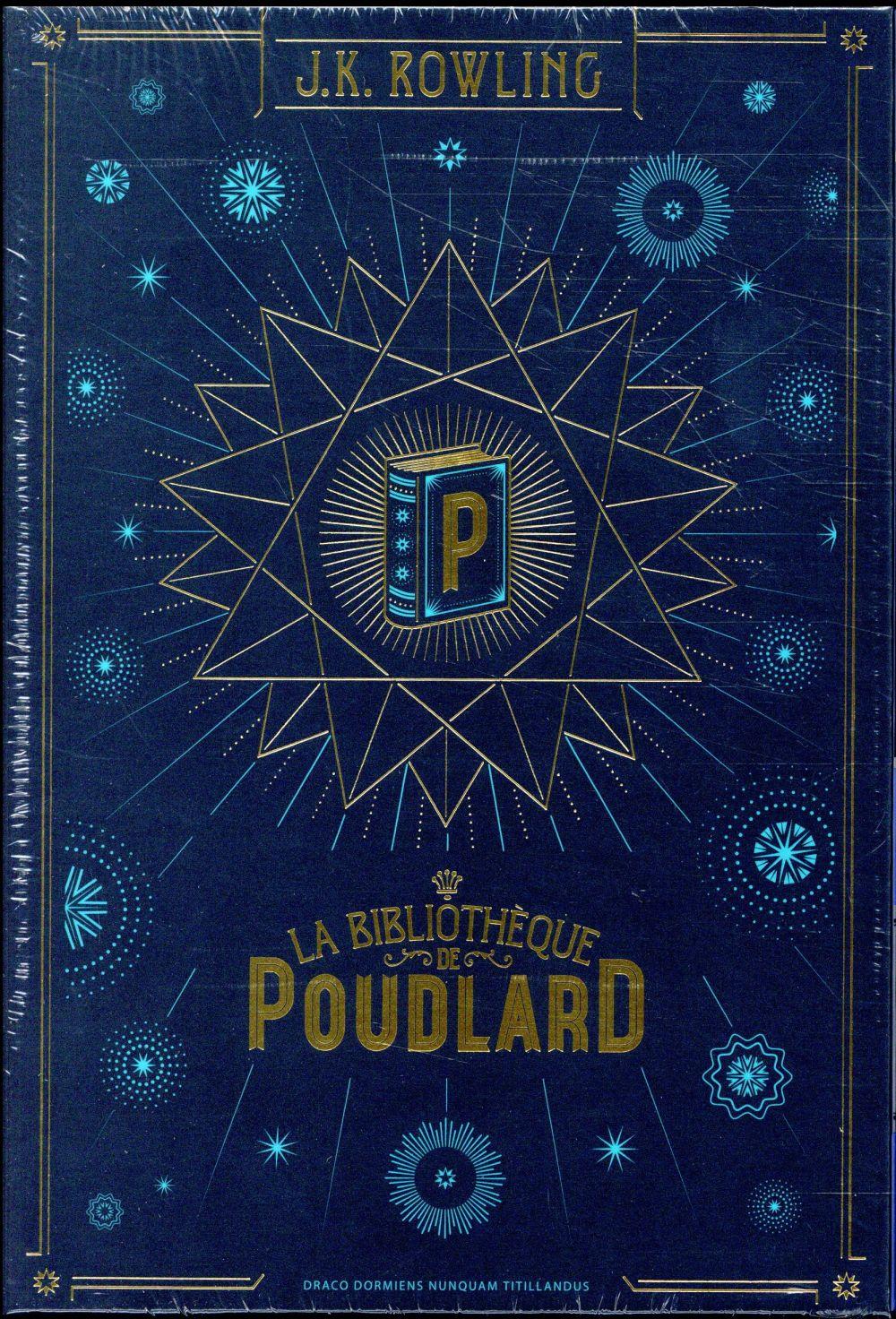 Harry Potter ; la bibliothèque de Poudlard