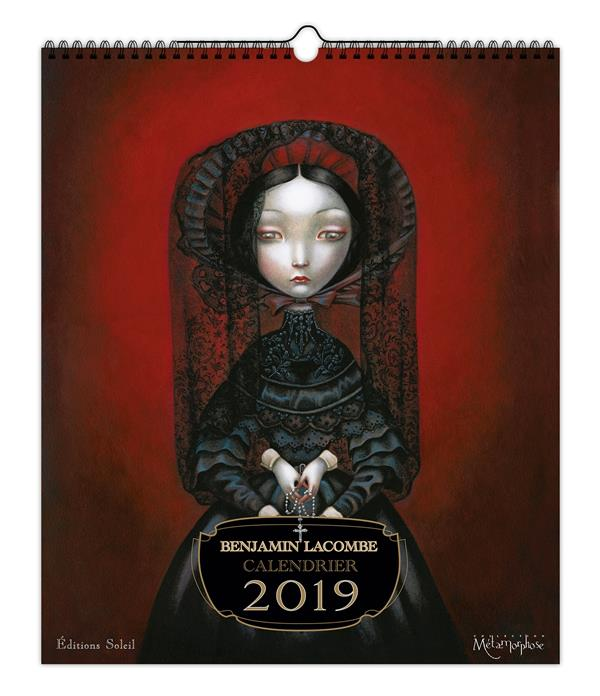 Benjamin Lacombe ; calendrier (édition 2019)