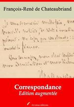 Vente Livre Numérique : Correspondance - suivi d'annexes  - François-René de Chateaubriand