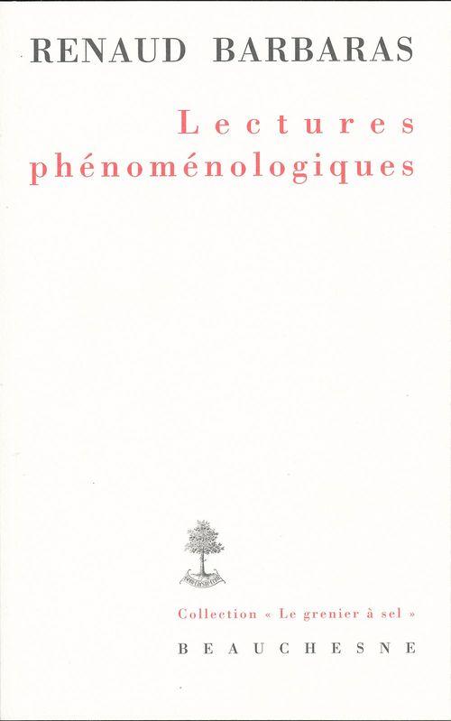 Lectures phénoménologiques