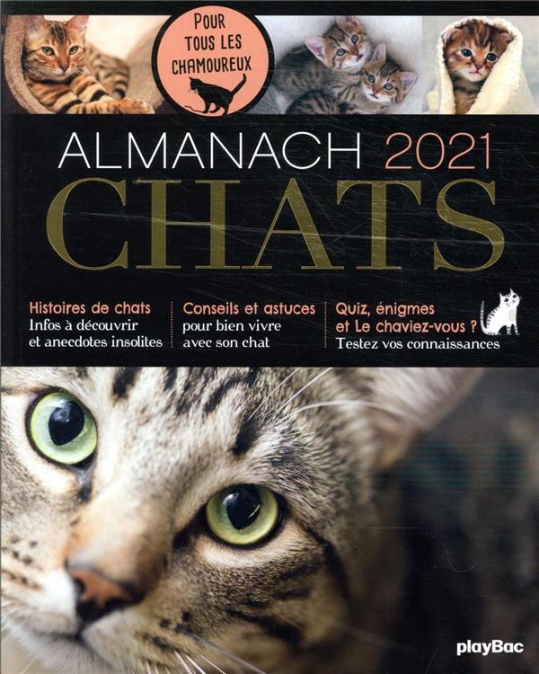 Almanach chats (édition 2021)