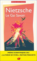 Vente Livre Numérique : Le Gai Savoir (Prépas scientifiques 2021)  - Friedrich Nietzsche