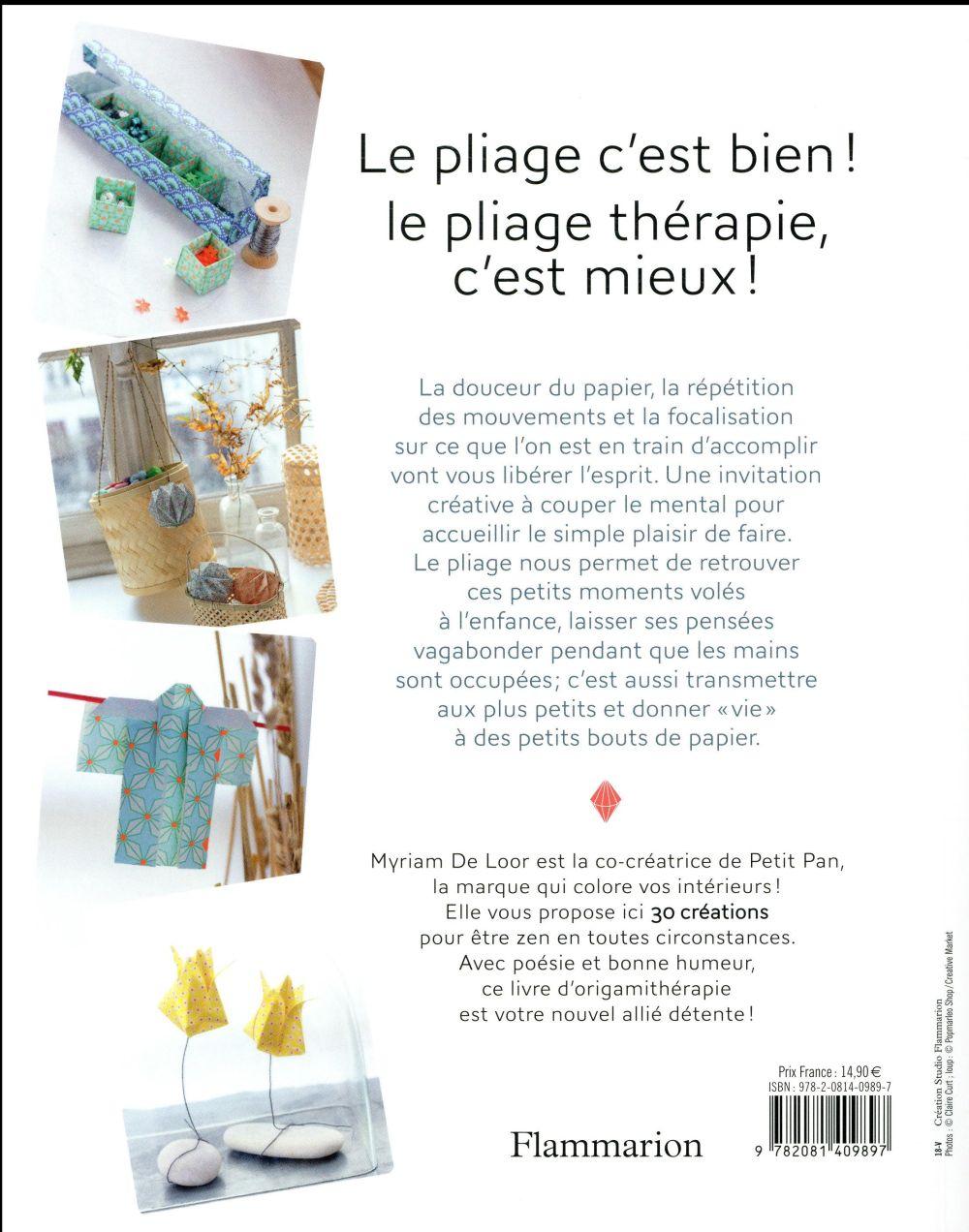 Pliage thérapie ; l'origami qui rend zen