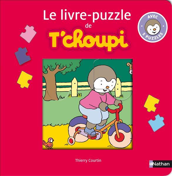 Le Livre-Puzzle De T'Choupi ; Avec 5 Puzzles
