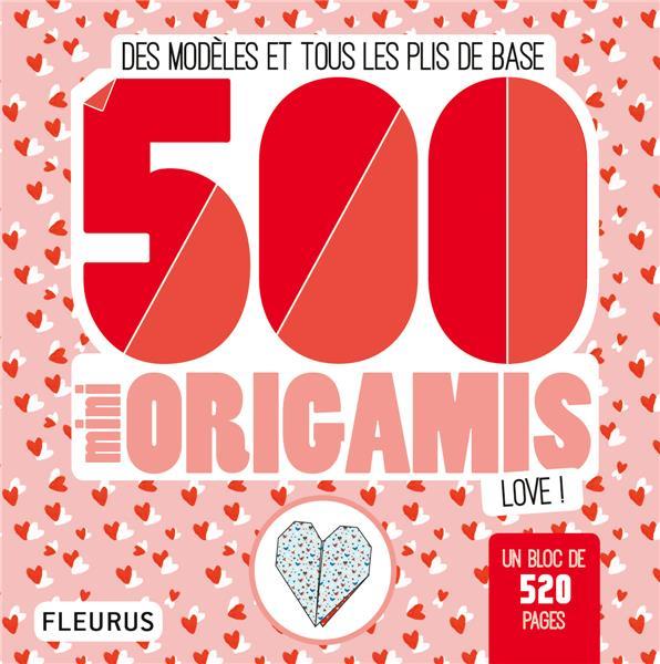 500 mini origamis love !