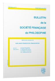 BULLETIN DE LA SOCIETE FRANCAISE DE PHILOSOPHIE n.2018/3 ; Karl Marx penseur de l'émancipation