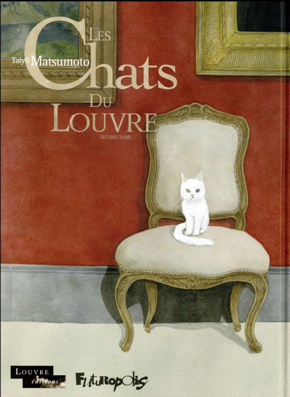 Les chats du Louvre T.2
