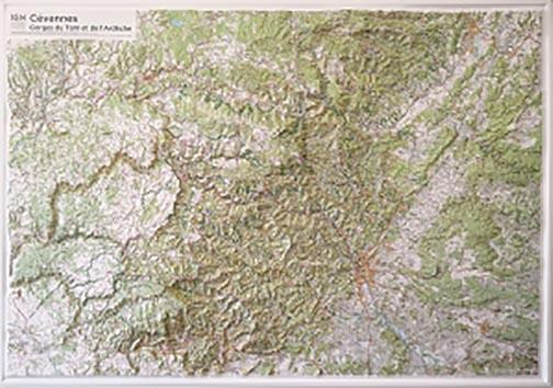 60179 ; Cévennes, relief