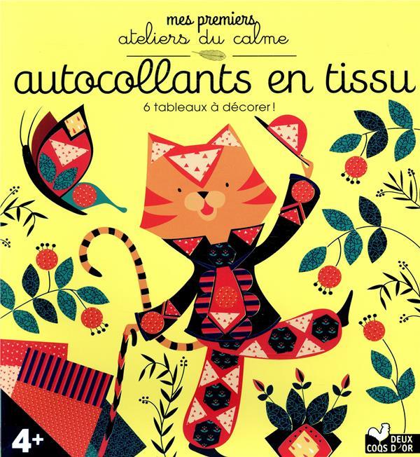 LES ATELIERS DU CALME  -  TABLEAUX EN TISSU  -  BOITE AVEC ACCESSOIRES  DE PAGE, ALICE