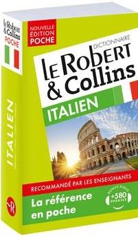 LE ROBERT & COLLINS ; POCHE ; dictionnaire ; italien