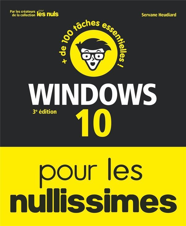Windows 10 pour les nullissimes (3e édition)