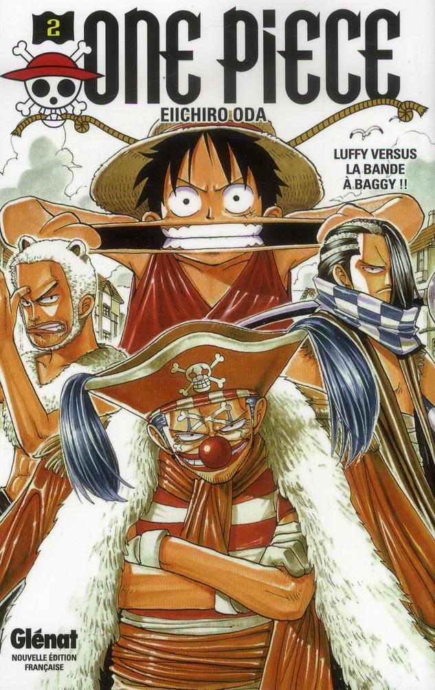 One Piece - édition originale t.2 ; Luffy versus la bande à Baggy !!