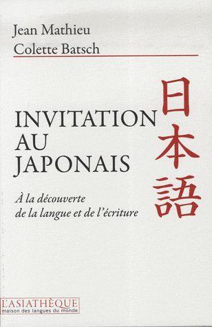 Invitation Au Japonais (2e Edition)