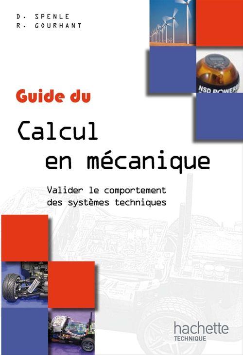 Guide du calcul en mécanique