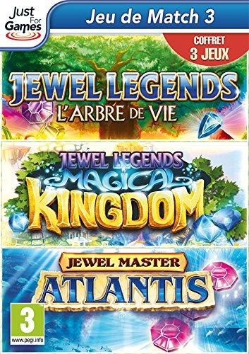 triple pack jewel (legend l'arbre de vie, master Atlantis & legends magical kingdom)
