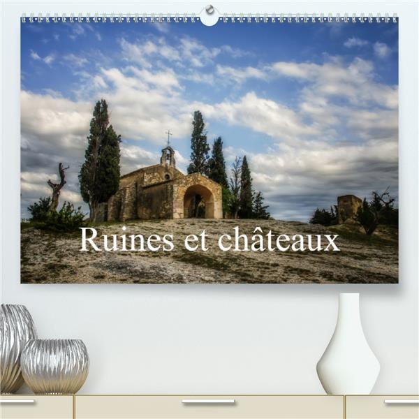 Ruines et chateaux(premium, hochwertiger din a2 wandkalender 2020, kunstdruck in hochglanz) - chatea