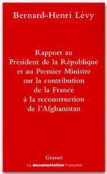 Vente Livre Numérique : Rapport au président de la république  - Bernard-Henri Lévy