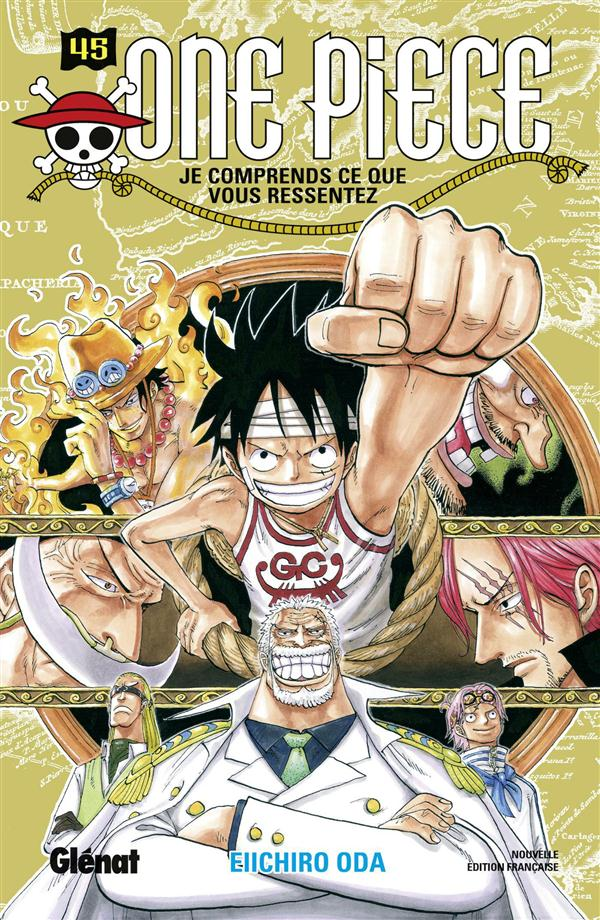 ONE PIECE - EDITION ORIGINALE - TOME 45 - JE COMPRENDS CE QUE VOUS RESSENTEZ Oda Eiichiro