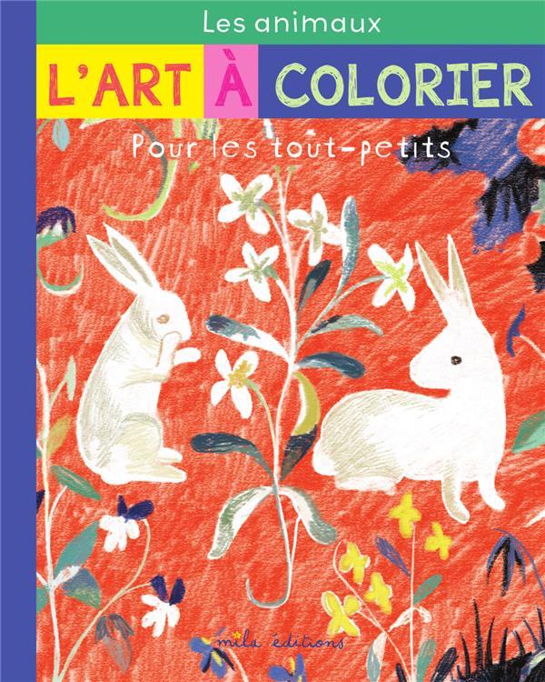l'art à colorier pour les tout-petits : les animaux