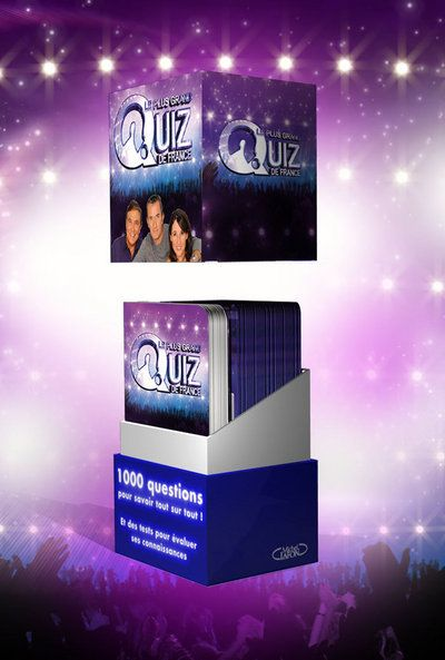 Le Plus Grand Quiz De France ; Coffret