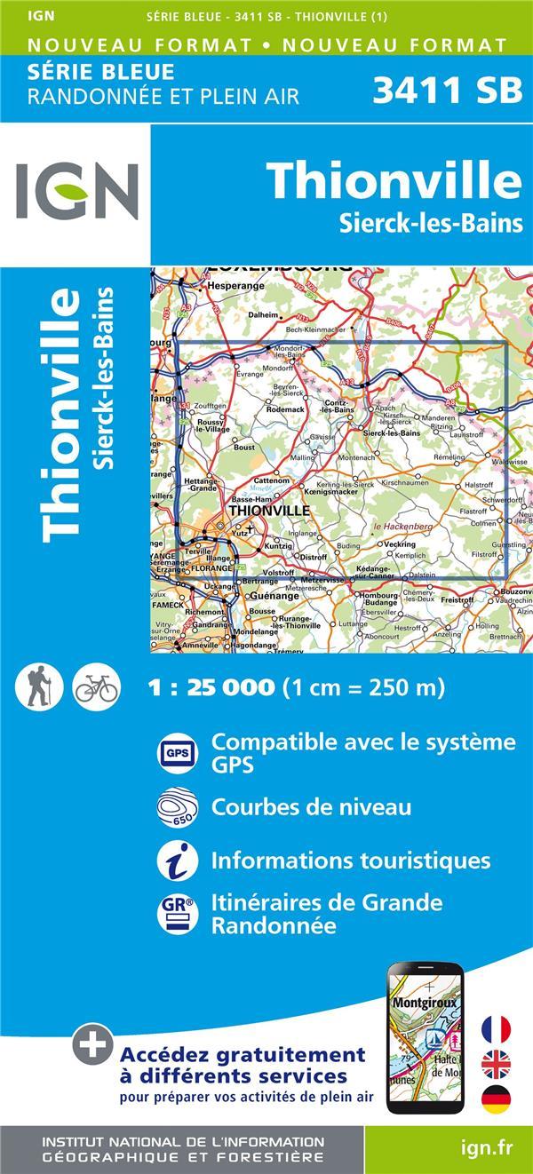 3411SB ; Thionville ; Sierck-les-bains