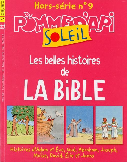 Pomme d'api soleil ; grands personnages de la bible ; 4-8 ans