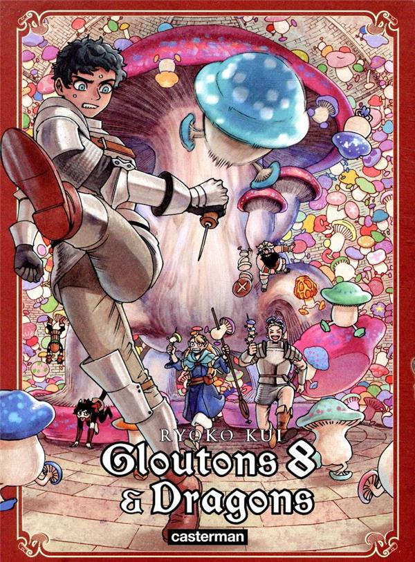 Gloutons et dragons T.8