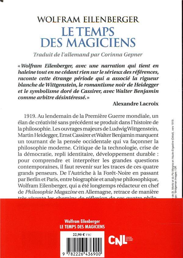 Le temps des magiciens ; 1919-1929, l'invention de la pensée moderne