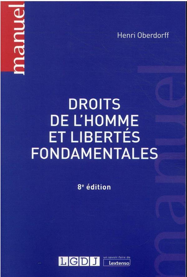 Droits de l'homme et libertés fondamentales (8e édition)
