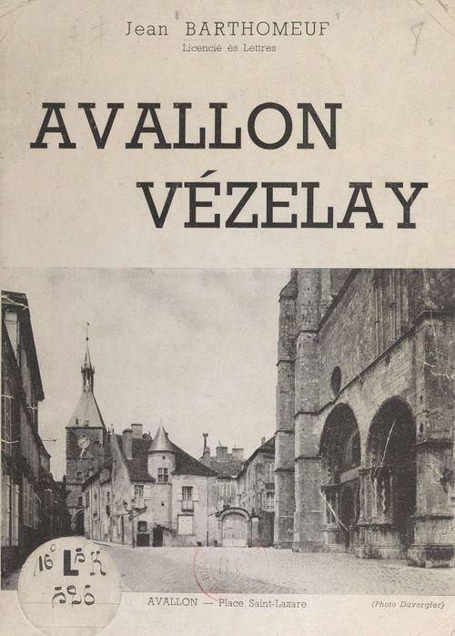 Avallon, Vézelay