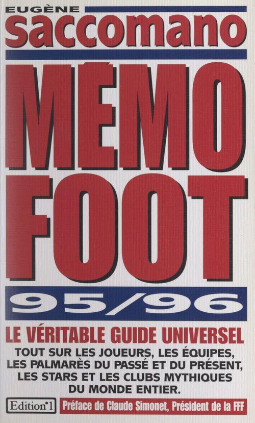 Mémo foot 95-96
