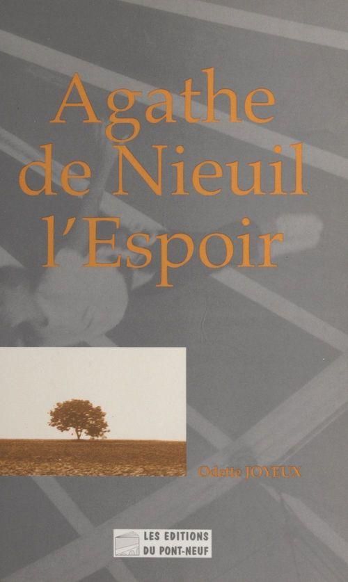 Agathe de Nieuil-l'Espoir