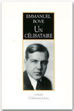 Vente Livre Numérique : Un célibataire  - Emmanuel Bove