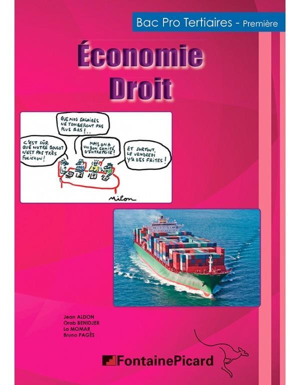 économie droit ; 1re bac pro tertiaires ; livre élève