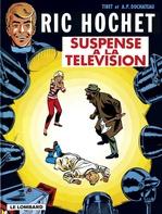 Ric Hochet T.7 ; suspense à la télévision  - Duchâteau - A.P. Duchâteau - Andre-Paul Duchateau - Tibet