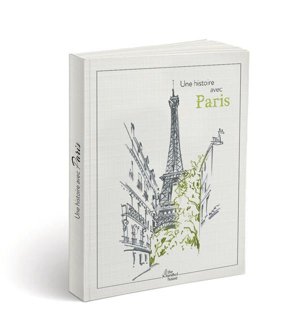 Une histoire avec Paris ; tour Eiffel feuilles