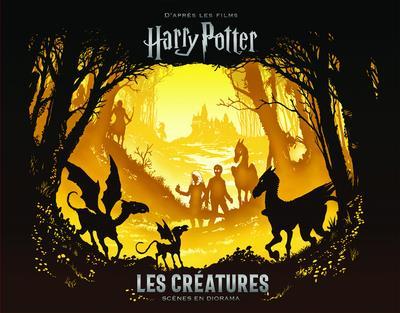Harry Potter ; les créatures ; scènes en diorama