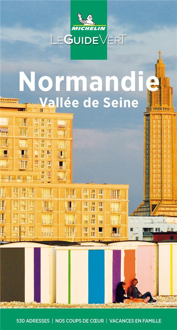 Le guide vert ; Normandie, Vallée de la Seine (édition 2021)