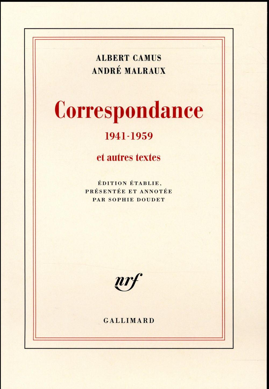 Correspondance 1941-1959 et autres textes