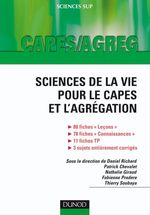 Vente Livre Numérique : Sciences de la vie pour le Capes et l'Agrégation  - Fabienne Pradere - Patrick Chevalet - Thierry Soubaya - Nathalie Giraud