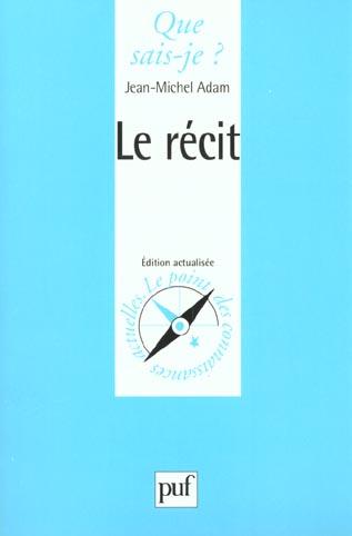Le Recit (6ed) Qsj 2149