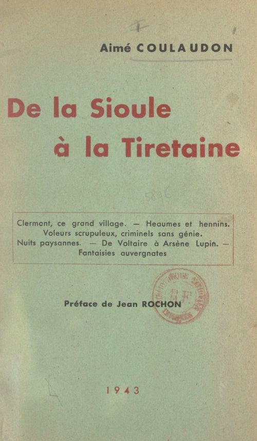 De la Sioule à la Tiretaine