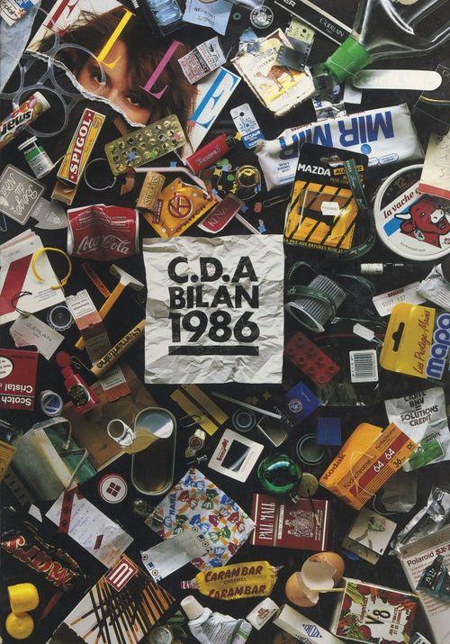 Les meilleures publicités 1986 sélectionnées par le Club des directeurs artistiques