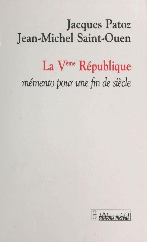 Almanach de la cinquieme republique