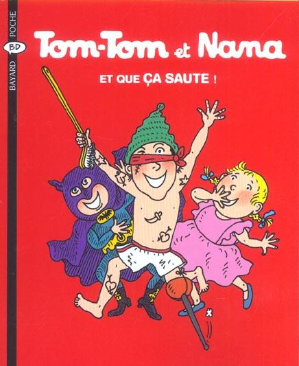 Tom-Tom et Nana T.12 ; et que ça saute !
