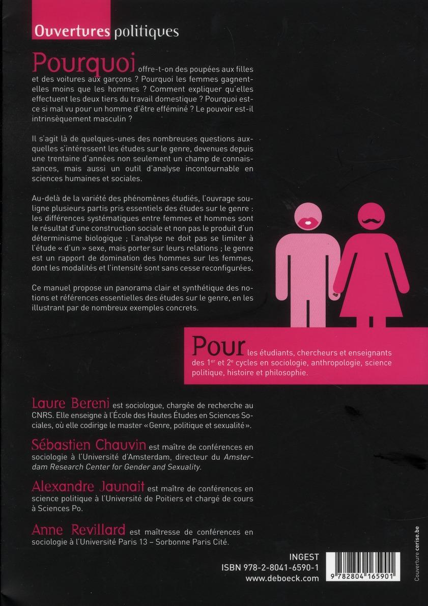 introduction aux études sur le genre (2e édition)