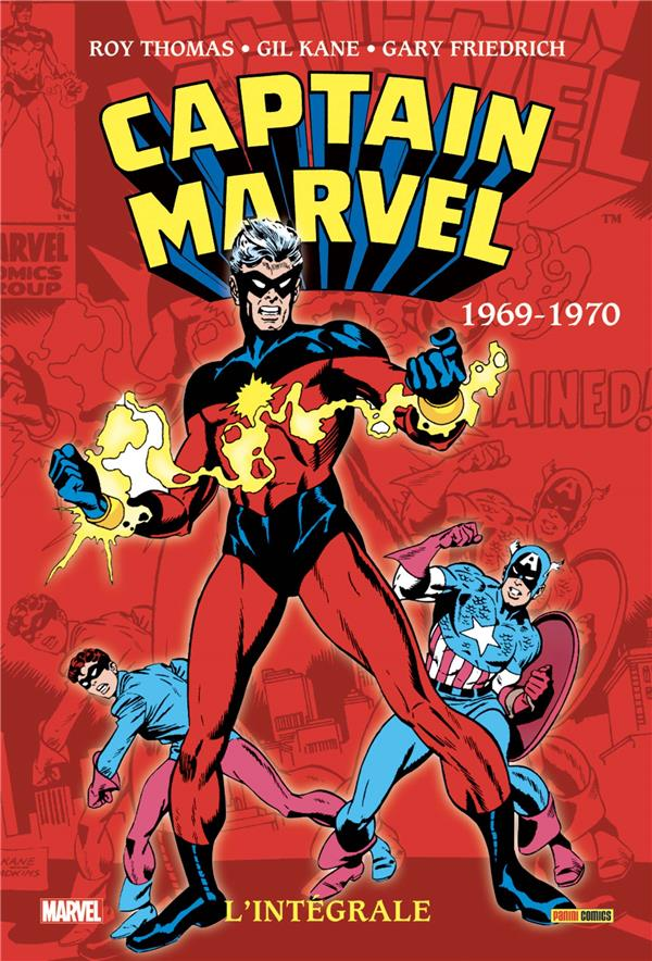 Captain Marvel ; INTEGRALE VOL.2 ; 1969-1970
